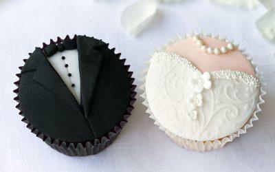 5 cupcakes ideja za romantično venčanje